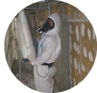 Devis décontamination amiante toiture